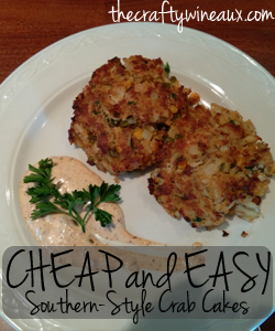 Cheap and Easy Southern-Style Crab Cake Recipe