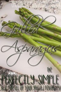 Grilled Asparagus Pinterest